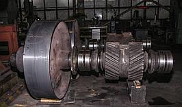 Вал-шестерни прямозубые, косозубые, шевронные,венцы прямозубые и косозубые (ремонт)