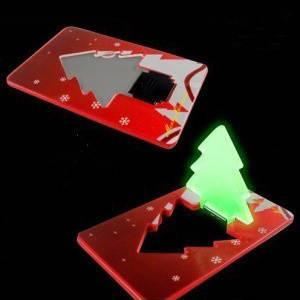 Светодиодная елочка-кредитка ( ночник ), фото 2