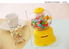 2 в 1: копилка + конфетная машина candy machine, конфетница, копилка для конфет, фото 3