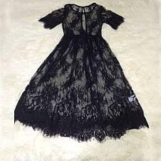 Женское кружевное платье/накидка/верх для праздника/дома/пляжа(Размер: S), фото 3