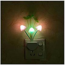 """Светодиодный ночник с датчиком света грибы из фильма """"Аватар"""", фото 3"""