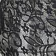 Женское полупрозрачное кружевное боди (Размер: S), цвет: чёрный, фото 2