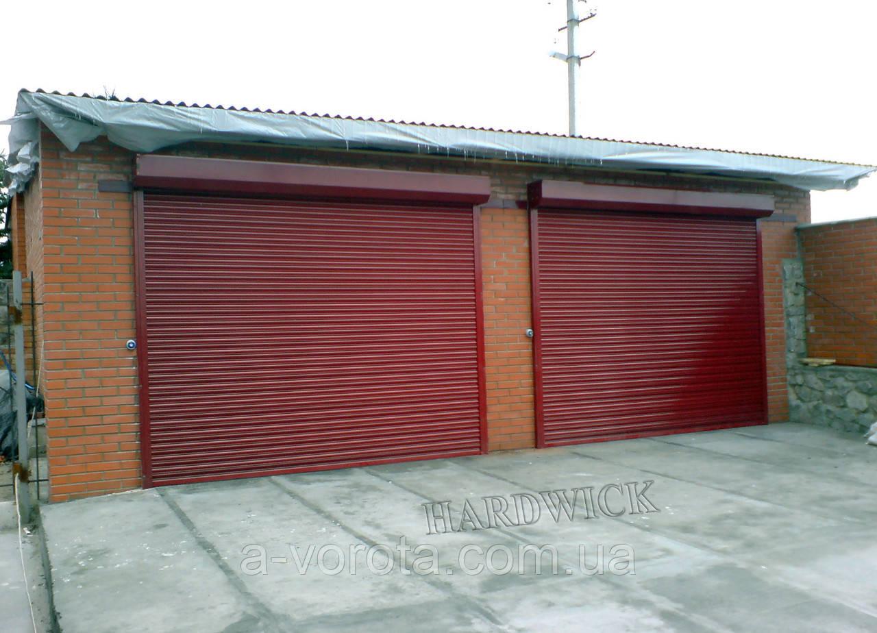 Рулонні сталеві промислові ворота TM Hardwick (4 000×2 700 мм)