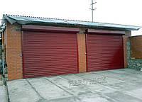 Рулонні сталеві промислові ворота TM Hardwick (4 000×2 700 мм), фото 1