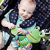Развивающая подвесная игрушка для малышей Лягушонок Джек LC27522 Lamaze, фото 4