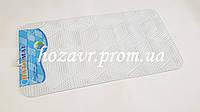 SPA-коврик на присосках антискользящий мозайка (белый) K030