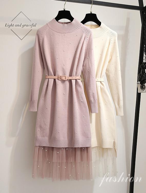 Платье трикотажное с юбкой 44-46 (в расцветках)
