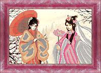 Схема для вышивки бисером Японские мотивы