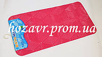 SPA-коврик на присосках антискользящий мозайка (розовый) K031