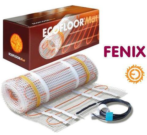 Тонкий нагревательный двужильный мат Fenix LDTS, 150 Вт/м2