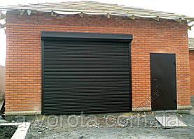 Рулонные стальные промышленные ворота TM Hardwick 3300*2200 мм