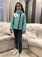 Куртка весна осень для девочки 1122