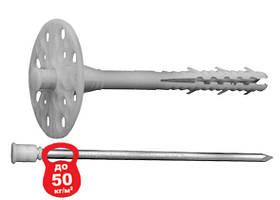 Дюбель 10*300  для крепления изоляции с металлическим стержнем.