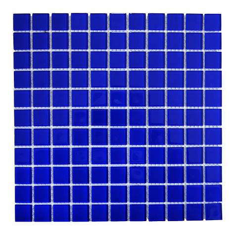 Мозаика стеклянная Aquaviva Сristall кобальт DCM307, фото 2