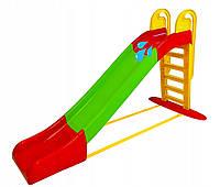 Детская горка слайд Mochtoys + вода XXXL 243 cm, фото 1