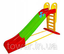 Детская горка слайд Mochtoys + вода XXXL 243 cm