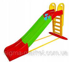Детская горка слайд Mochtoys + вода 243 XXXL Польша
