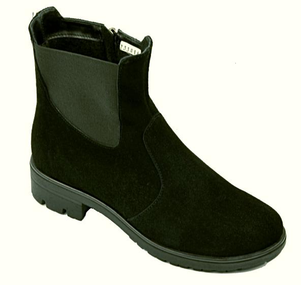 Ботинки челси женские натуральная замша демисезонные и зимние от производителя KARMEN 233016