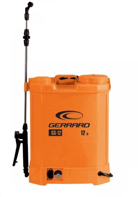 Опрыскиватель аккумуляторный 12 л Gerrard GS-12 Распылитель садовый электрический