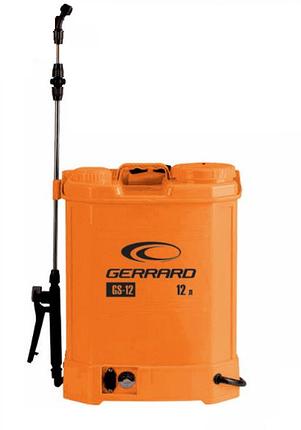 Опрыскиватель аккумуляторный 12 л Gerrard GS-12 Распылитель садовый электрический, фото 2