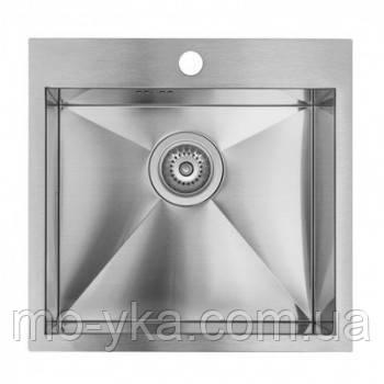 Мойка кухонная нержавейка Ukinox MEP 500.500 gt 10k