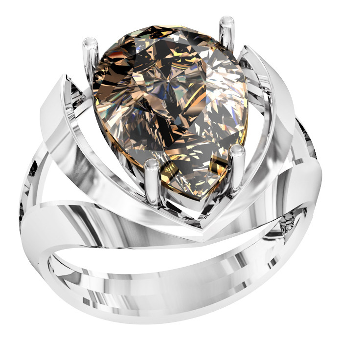 Кольцо  женское серебряное Milan 112 190