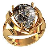 Кольцо  женское серебряное Milan 112 190, фото 2