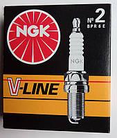 Свечи зажигания NGK-2 ВАЗ 2108-2110,Daewoo,Chevrolet