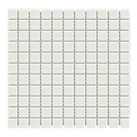 Мозаика стеклянная Aquaviva Сristall белая DCM308, фото 2