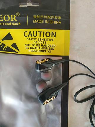 Двухдрайверные Наушники QKZ Hi-Fi SUPER BASS Гарнитура 4 Динамика, фото 2