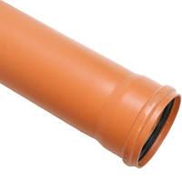 Труба канализационная наружная Мпласт д.200х4м SN2 (3.9)
