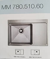 Кухонная  мойка Ukinox MMP 780.510 60 GT 10K L акция