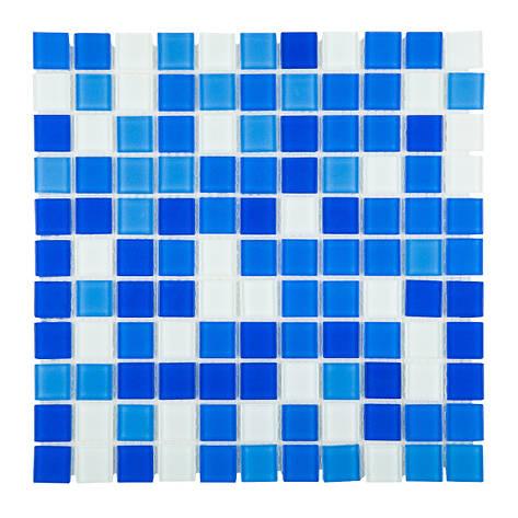 Мозаика стеклянная Aquaviva Cristall Bagama Light DCM178/304, фото 2