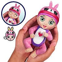 Интерактивная кукла-пупс Тини Тойс Tiny Toes Bunny Ticklish Tess