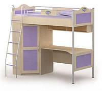 Серия «Angel» Кровать-чердак со шкафом BRIZ, фото 1
