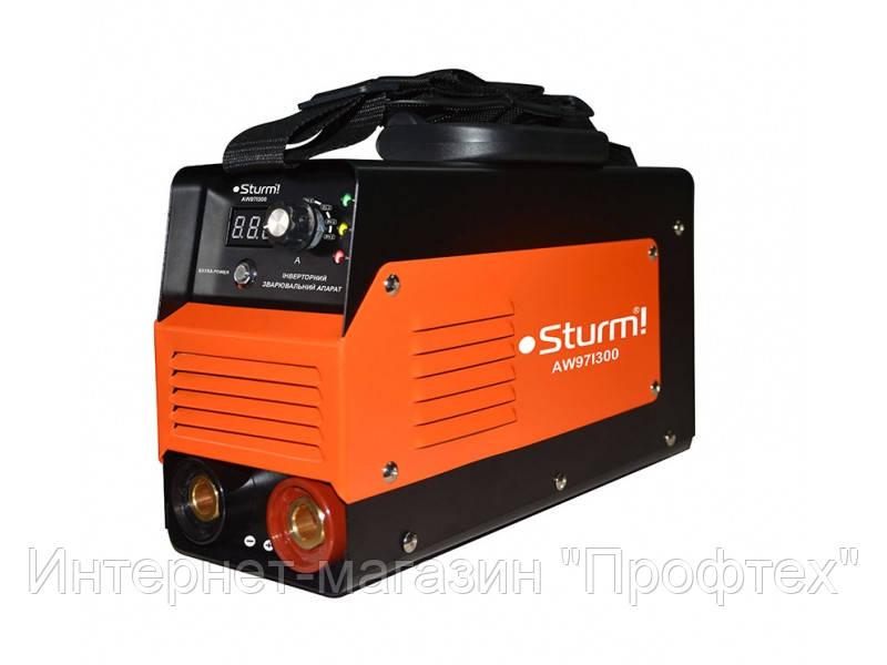 Зварювальний інвертор (300А, кнопка, Extra Power) Sturm AW97I300