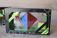 Набір Піраміда Youpin Meffert's Pyraminx головоломка, 2 брелки, в подарунковій коробці, фото 1