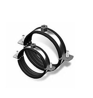 Обойма для труб сталева з виброгасителем М10 4 1/2 (120-128)