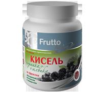 Кисіль«Чорниця-Ожина» 300г на фруктозі збагачений вітамінами і мінералами, моментального приготування, фото 1