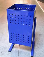"""Урна для мусора """"Куб"""" малая (синяя)"""