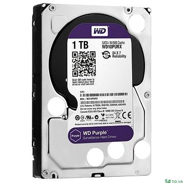 Жесткий диск 3.5 WD Purple 1TB (WD10PURZ)