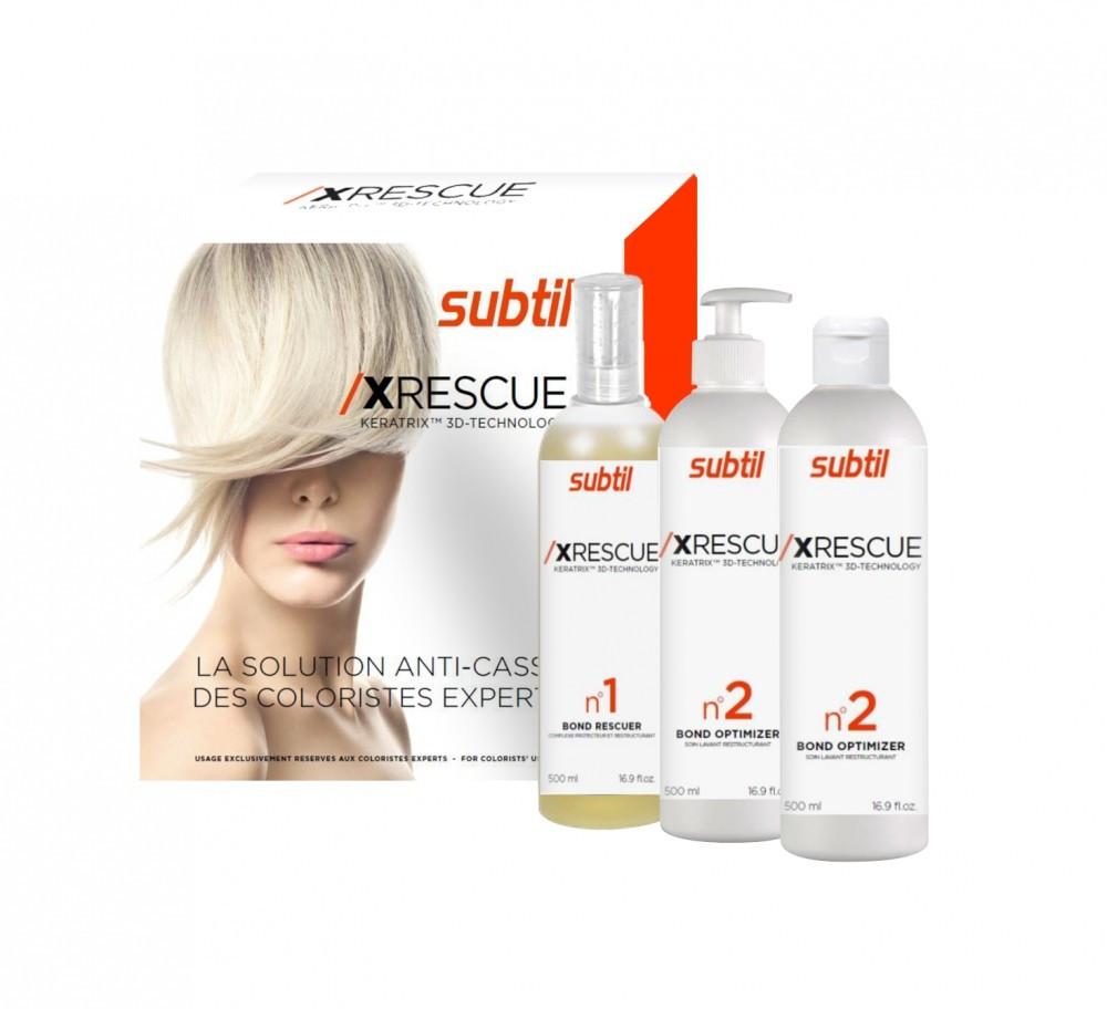 Ducastel XRESCUE Keratrix - Комплекс восстановления волос, 3х500 мл.