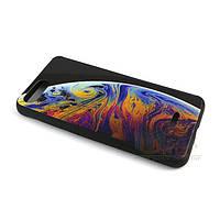 Чехол-накладка с рисунком под стеклом для Xiaomi Redmi 6A Рисунок №02
