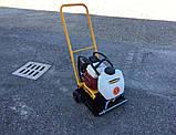 Виброплита бензиновая - 80 кг, для для грунта и асфальта, Batmatic FP1650, фото 2