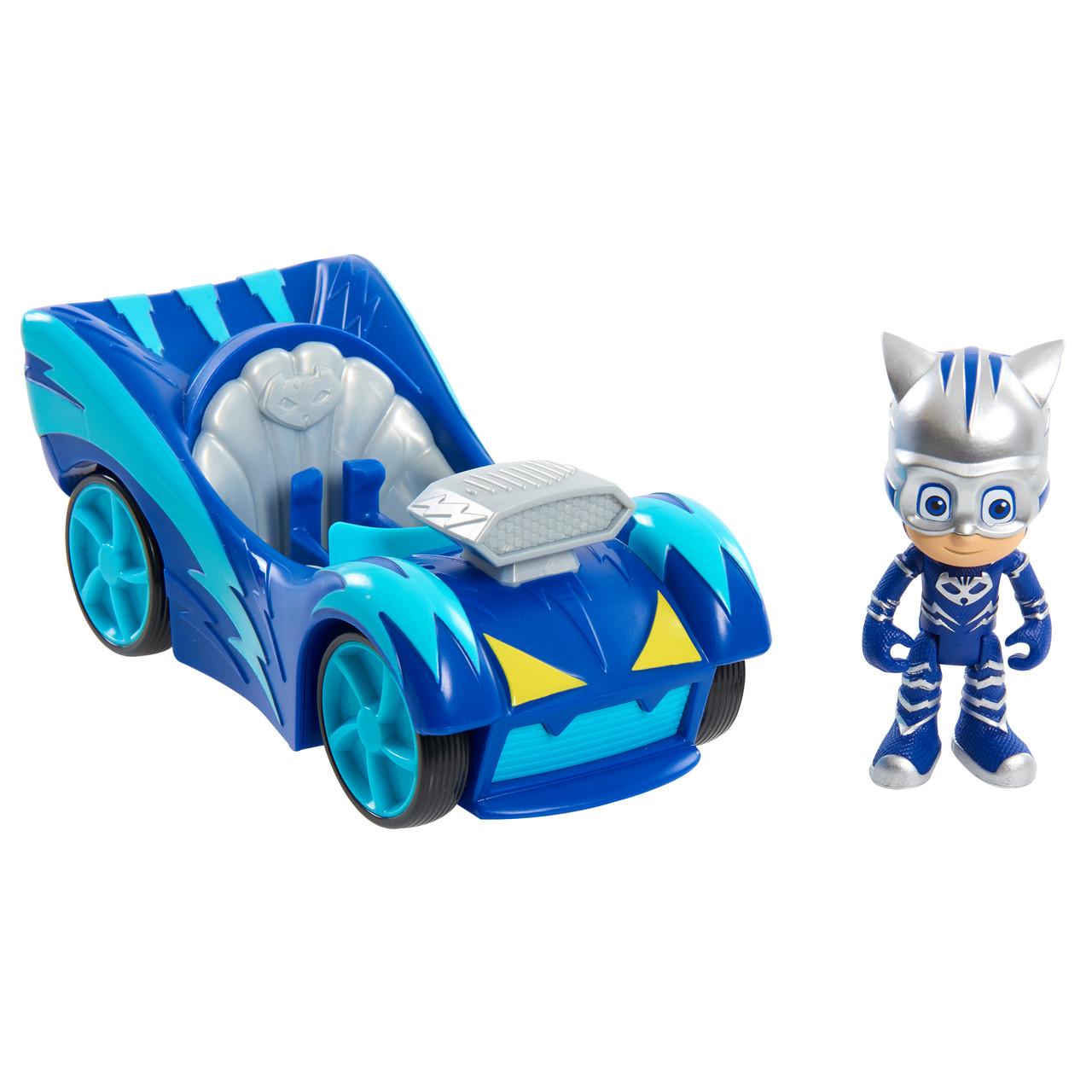 Игровой набор - PJ Masks Speed Boosters - Catboy and Cat-Car. (Герои в масках. Кэтбой и Кэт-мобиль)