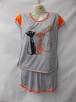 Женская котоновая пижама оптом со склада в Одессе.