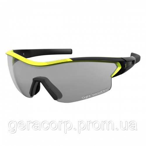 Спортивные очки SCOTT LEAP LS  black matt/neon yellow grey ls + clear