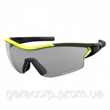 Спортивные очки SCOTT LEAP LS  black matt/neon yellow grey ls + clear, фото 2