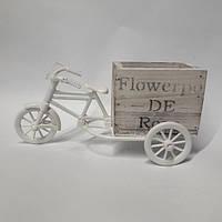 Кашпо декоративное Велосипед 4311