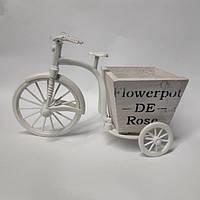 Кашпо декоративное Велосипед 6501